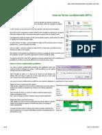 Excel - Mise en Forme Conditionnelle