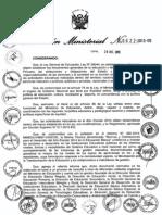 NORMAS Y ORIENTACIONES PARA EL DESARROLLO DEL AÑO ESCOLAR 2014 EN EDUCACION BÁSICA