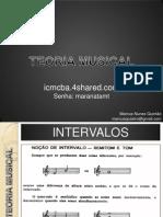 Aula 03 - Teoria Musical - Intervalo e Escalas