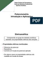 Potenciometria - Introdução e Aplicações