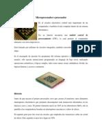 Microprocesador, Memoria RAM y Disco duro, requerimientos básicos de los sistemas operativos