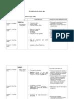 Planificación Física IMedio 2014