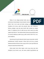 Contoh surat saran/masukan untuk PT.Pertamina