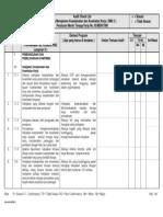 Daftar Periksa Audit Smk3