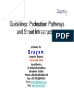 Guidelines Pedestrian Pathways and Street Infrastructure