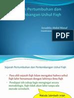 1-USHUL FIQH SEJARAH