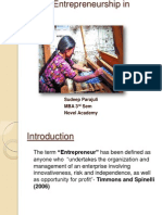 Women Entrepreneurship in Nepal