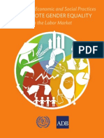 Good Global Economic and Social Practices to Promote Gender Equality in the Labor Market