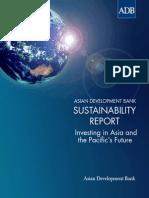Asian Development Bank Sustainability Report 2013
