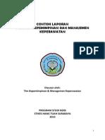 Contoh Laporan Praktek Prpfesi Manajemen (1)