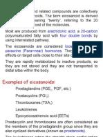8. Eicosanoids