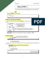 PHP Basics 1-1 (1)
