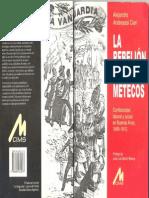 Andreassi Cieri - La rebelión de los metecos Conflictividad 1895-1910
