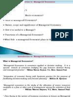 Economics Lecture 1