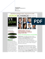Verdexchange VX2014 January 26-28, 2014