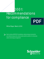 ISO 50001 Recommendations