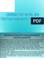 Impact of WTO on Textile Industry in India
