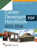 Career Development Handbook 2013-14