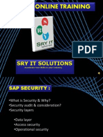 SAP BPC Online Training | Overview | BPC Course Material | SRY IT Solutions