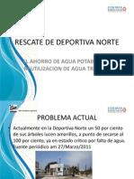 Rescate de Deportiva Norte