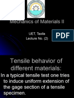 Mechanics of Materials II(2)