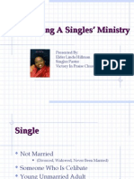Developing a Singles Ministry