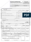 Solicitud de Modificacion de Datos - RUC
