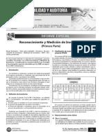 Reconocimiento y Medición de Inventarios