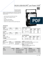 Simpson 260-6xlm Data Sheet