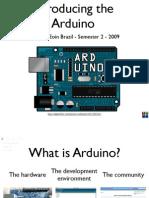 13011756 Arduino Lecture 1 Interactive Media CS4062 Semester 2 2009