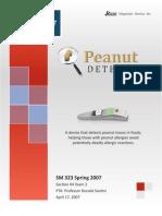 Peanut Detective Business Plan