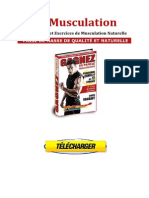 Telecharger Musculation Naturelle PDF Gratuit