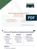 Traffic Engineering Beyond MPLS