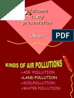 Air Poluution Std 2 to 3 Std Evs