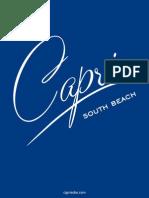 Capri South Beach floor plans