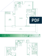 The Ivy floor plans