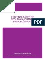 EXTERNALIDADES  DE PEQUENAS CENTRAIS HIDROELÉTRICAS
