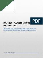 Rambu-Rambu Nonteknis KTI Versi Revisi