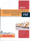 1219618 Creating Transparency in Resource Utilization and Flexibility of DHL Express NL