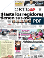 Periódico Norte de Ciudad Juárez 24 de Diciembre de 2013