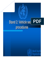 Vehicle Search Procedures