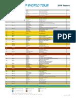 Calendary ATP