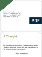 Performance Management PGDBA SEM 3