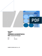 Appendix 1 BSC6900 UMTS V900R014C00SPH5600 MML Command Changes