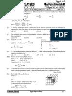 Bansal Classes Probability Dpp 13th