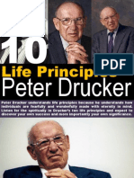 10 Life Principles Peter Drucker