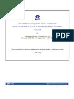 Installation BOM Extraction-Final Draft
