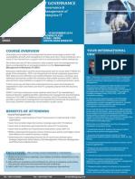 IT Governance & Leadership 17 - 20 November 2014 Dubai, UAE