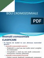Curs Boli Cromozomiale