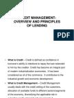 1 Credit Management Overview - NIKKIE